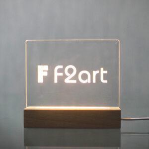 LEDプレートの画像