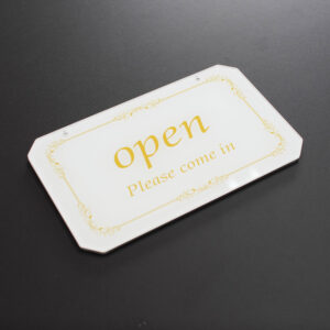 オープンプレートの画像