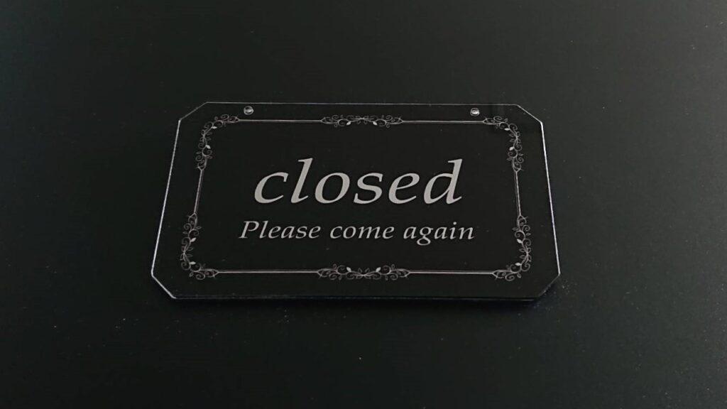 Close plate