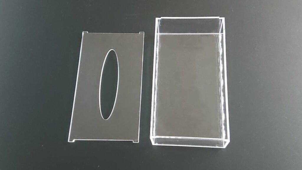 アクリル製ティッシュボックス02