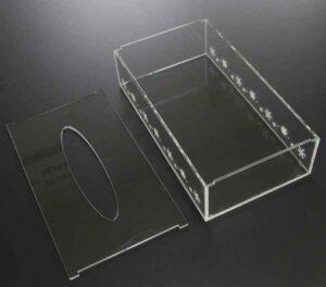 アクリル製ティッシュボックス07