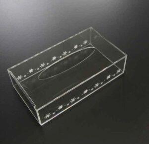 アクリル製ティッシュボックス09